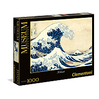1000 bitar - Museum Collection: Hokusai The Great Wave