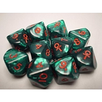 Chessex Specialty Dice Sets - Ankh d10 Set