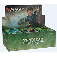 MTG - Zendikar Rising Draft Booster Display