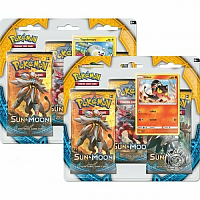 Pokemon 3-pack Sun & Moon Boosters