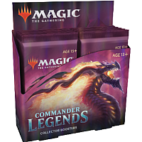 Magic the Gathering Commander Legends Collector Booster Display