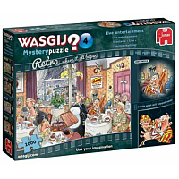 1000 Bitar - Wasgij Retro Mystery Puzzle 4: Live Entertainment!