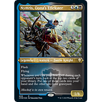 Nymris, Oona's Trickster (Foil Etched)