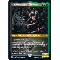 Abomination of Llanowar (Foil Etched)