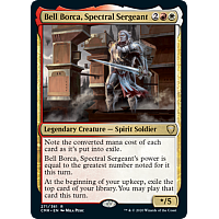 Bell Borca, Spectral Sergeant