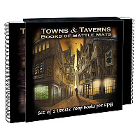 Loke Battle Mats: Towns & Taverns