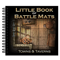 Loke Battle Mats: Little Book of Battle Mats Towns & Taverns Edition
