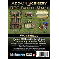Loke Battle Mats - Add-On Scenery War & Siege