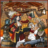 Red Dragon Inn 4 (Red Dragon Exp. Stand Alone Boxed Card Game)