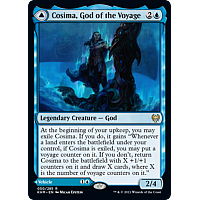 Cosima, God of the Voyage // The Omenkeel (Foil)
