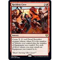 Reckless Crew (Foil)