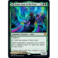 Esika, God of the Tree // The Prismatic Bridge (Foil)