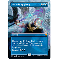 Alrund's Epiphany (Foil) (Borderless)