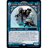 Cosima, God of the Voyage // The Omenkeel (Foil) (Showcase)