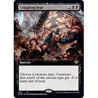 Crippling Fear (Foil) (Extended Art)