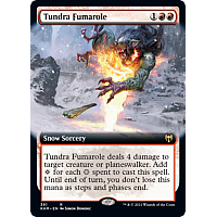 Tundra Fumarole (Foil) (Extended Art)