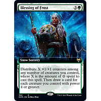Blessing of Frost (Foil) (Extended Art)