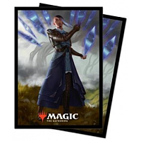 UP - Magic: The Gathering Kaldheim 100ct Sleeve featuring Planeswalker Art 4