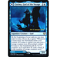 Cosima, God of the Voyage // The Omenkeel (Foil) (Prerelease)