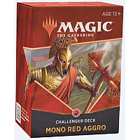 Magic The Gathering Challenger Deck 2021: MONO-RED AGGRO