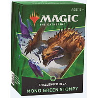 Magic The Gathering Challenger Deck 2021: MONO-GREEN STOMPY