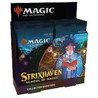 Magic The Gathering - Strixhaven: School of Mages Collector Booster Display (12 Packs) - Max två per kund