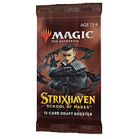 Magic The Gathering - Strixhaven: School of Mages Draft Booster