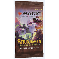 Magic The Gathering - Strixhaven: School of Mages Set Booster