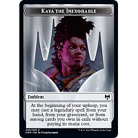 Emblem - Kaya the Inexorable [Token]