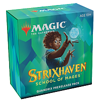 Magic The Gathering - Strixhaven: School of Mages Prerelease Pack Quandrix
