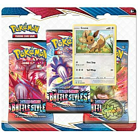 Pokémon TCG Sword & Shield - Battle Styles: 3 pack blister - Eevee