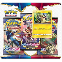 Pokémon TCG Sword & Shield : 3 pack blister - Morpeko