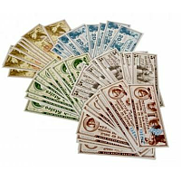 Paper Gaming Money: Famous Women