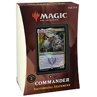 Magic The Gathering: Strixhaven Commander Deck Silverquill Statement