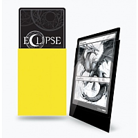 UP - Standard Sleeves - Gloss Eclipse - Lemon Yellow (100 Sleeves)