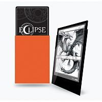 UP - Standard Sleeves - Gloss Eclipse - Pumpkin Orange (100 Sleeves)