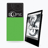 UP - Standard Sleeves - Gloss Eclipse - Lime Green (100 Sleeves)