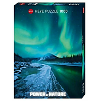 1000 Bitar - Power of Nature, Northen Lights