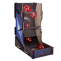 e-Raptor Dice Tower UV Print Space Journey