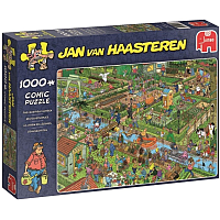 1000 Bitar -  Jan van Haasteren: The Vegetable Garden