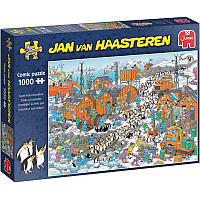 1000 Bitar - Jan Van Haasteren: South Pole Expedition