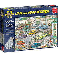 1000 Bitar - Jan Van Haasteren: Jumbo Goes Shopping
