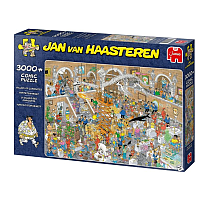 3000 Bitar - Jan Van Haasteren: Gallery of Curiosities