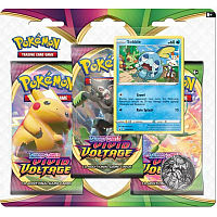 Pokémon TCG Sword & Shield - Vivid Voltage: 3 pack blister - Sobble