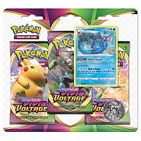 Pokémon TCG Sword & Shield - Vivid Voltage: 3 pack blister - Vaporeon