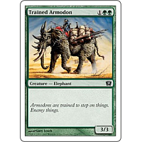 Trained Armodon